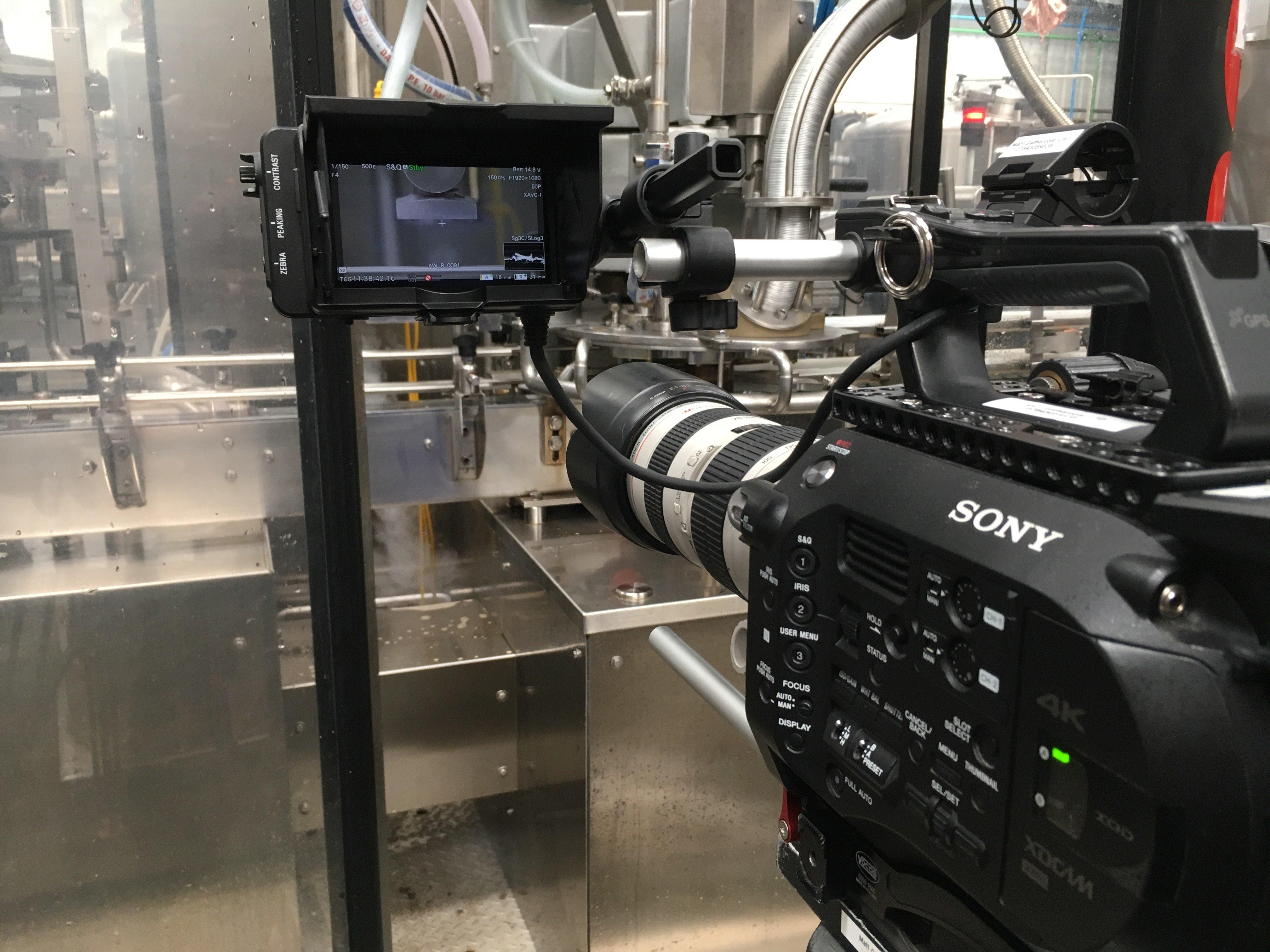 video filming camera